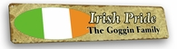 Ireland Vintage Metal Sign