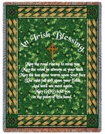 Irish Blessing Throw