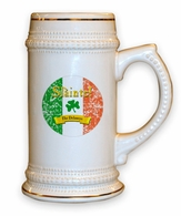Irish Ceramic Stein