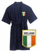 Irish Flag Bathrobe
