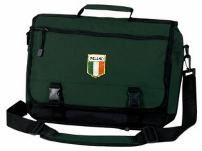 Irish Flag Briefcase