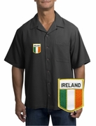 Irish Flag Camp Shirt