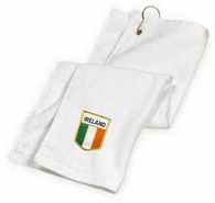 Irish Flag Golf Towel