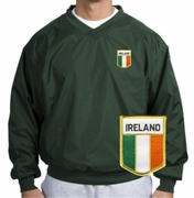 Irish Flag Wind Shirt