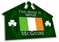 Irish House Sign