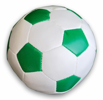 Irish Mini Leather Like Soccer Ball