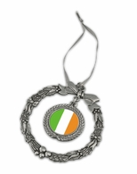 Irish Pewter Holiday Ornament