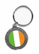 Irish Pewter Key Chain