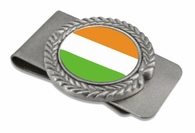 Irish Pewter Money Clip