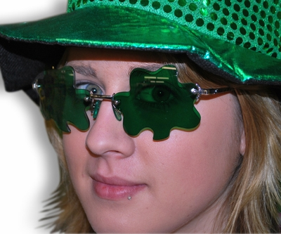 Irish Shamrock Sunglasses