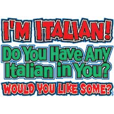 Italian in You Shirt