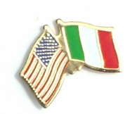 Italy Cross Pin