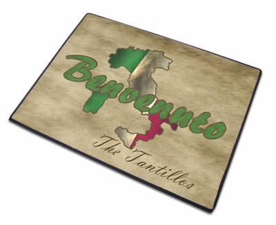 Italy Welcome Mat - Classic