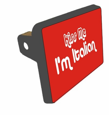 Kiss me Trailer Hitch Cover
