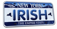 License Plate Cover - IRISH