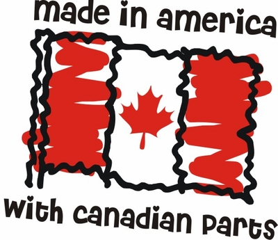 Made in Canada Flag Shirts