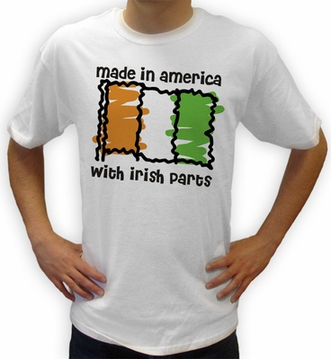 Made in Ireland Flag Shirts