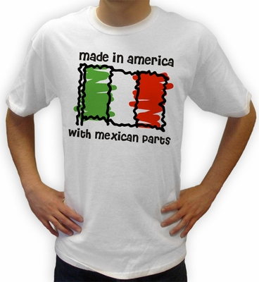 Made in Mexico Flag Shirts