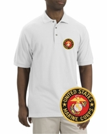 Marines Patch Polo