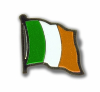 Metal Ireland Flag Pin