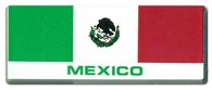 Mexico Flag Bar Sticker
