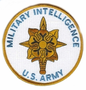 Military Intellignce Patch