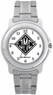 Monogrammed Gifts Commander Watch