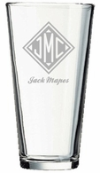 Monogrammed Gifts Mixing Glass