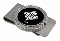 Monogrammed Gifts Pewter Money Clip