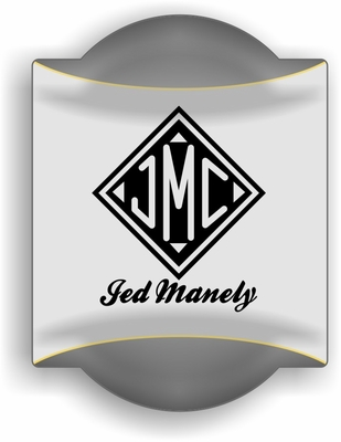 Monogrammed Gifts Traditional Sign