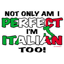 Not only am I perfect....