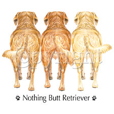 Nothing But Retriever Shirts