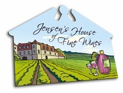 Personalized House of Fine Wines Sign