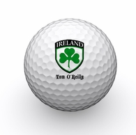 Personalized Irish Clover Golf Balls (3)