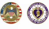 Purple Heart Military Coin