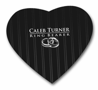 ring bearer Heart Shaped Mousepad