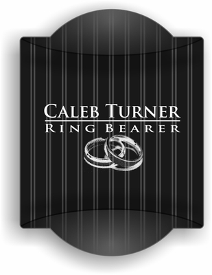 ring bearer Traditional Sign