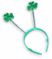 Shamrock Head Bobbers