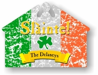 "Slainte Irish ""To Health"" House Sign"