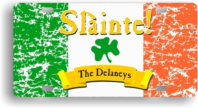 "Slainte Irish ""To Health""  License Cover"
