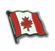 Small Wavy Canadian Flag Lapel Pin