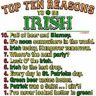 Top 10 Reasons/Irish