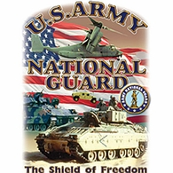 U.S. Army National Guard-The Shield of Freedom Shirts