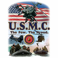 U.S.M.C.The Few. The Proud. Shirts
