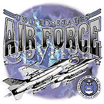 United States Air Force with Planes Shirts