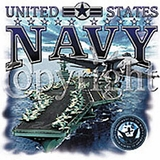 United States Navy with Aircraft Carrier Shirts
