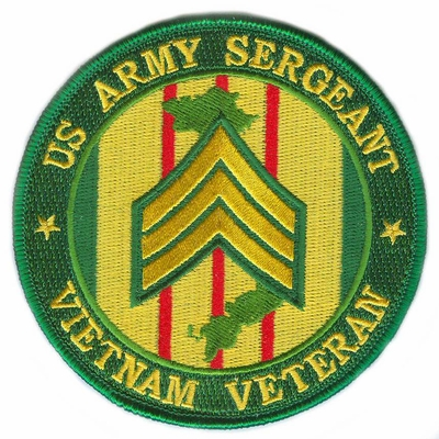 US Army Sergeant Vietnam Veteran Patch
