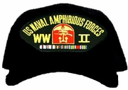 US Naval Amphibious Forces European WWII Ball Cap