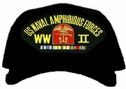 US Naval Amphibious Forces Pacific WWII Ball Cap