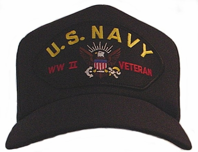 US Navy WWII Veteran Ball Cap